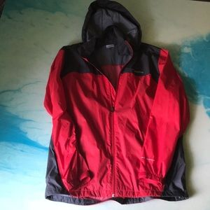 Men's Large Columbia Rain Jacket
